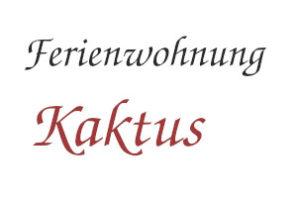 Logo Ferienwohnung Kaktus